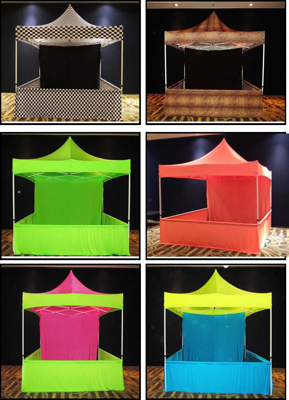 Props & Products more PopUp Canopies